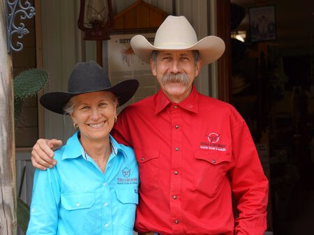 Owners at Texas Longhorn Wagon Tours & Safaris